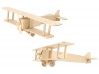 Модель для творчества Самолет биплан