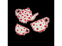 Фигурки для росписи Чайник, 2 чашки