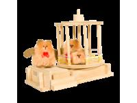 Конструктор Лесная карусель с куклами